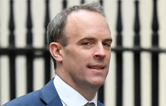 """We condemn this attack on Iraqi military bases hosting Coalition -- including British -- forces,"" said Foreign Secretary Dominic Raab."