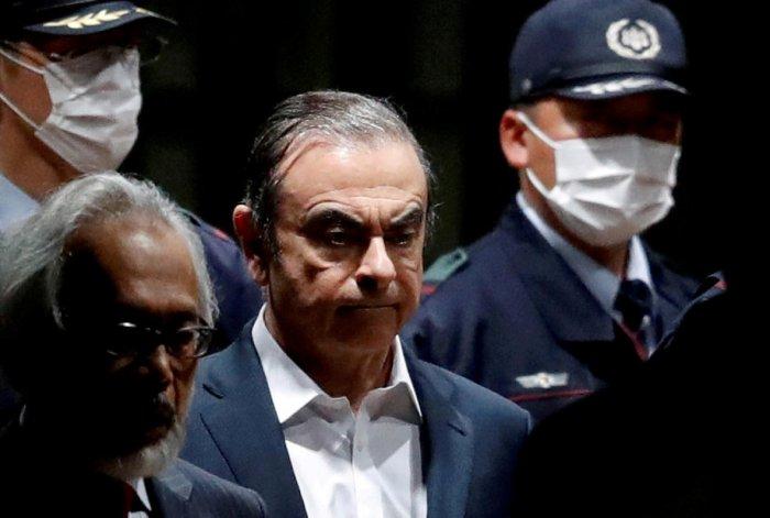 Former Nissan Motor Chariman Carlos Ghosn. (Reuters Photo)