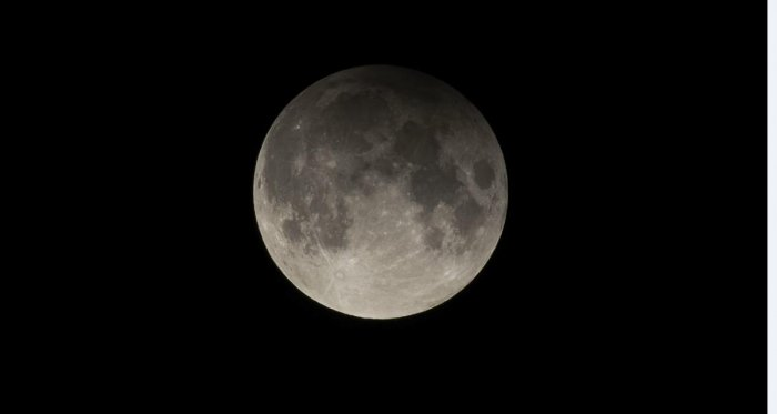 Image of a penumbral lunar eclipse. (DHNS Photo)
