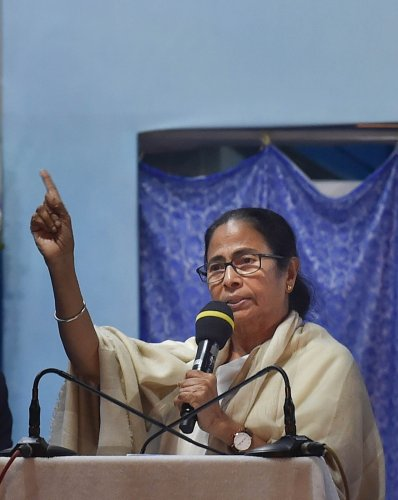 West Bengal Chief Minister Mamata Banerjee. (PTI Photo)