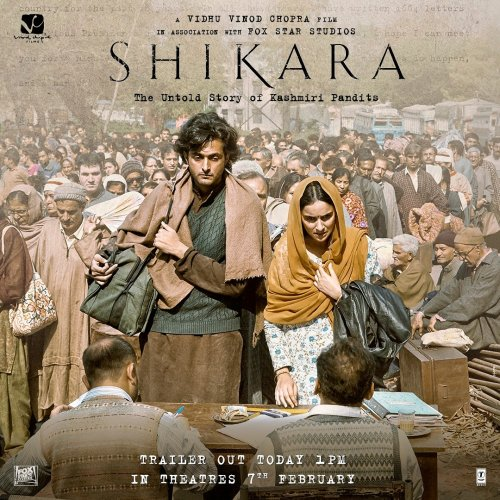 Official poster of Shikara. (Photo: Twitter/@VVCFilms)