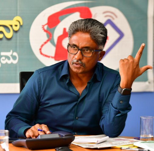 In an interaction with DH and Prajavani on Wednesday, Bangalore Metropolitan Transport Corporation (BMTC) Chairman N S Nandiesha Reddy said they were working on a plan to take over the entire ITS infrastructure and digital ecosystem. DH Photo