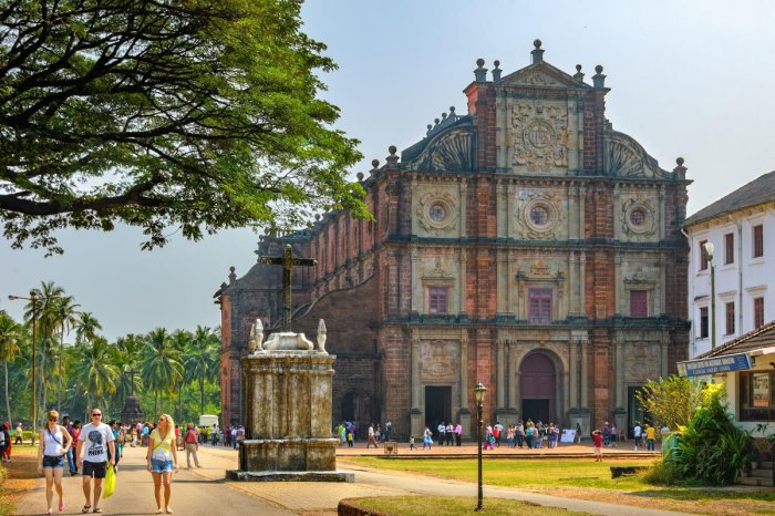 Goa attracts around four lakh international visitors every year, whose number has gone down significantly in the last two years. (File Image)