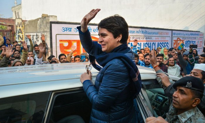 Sources said that all who were arrested in CAA protests in the town had been invited to meet Priyanka.