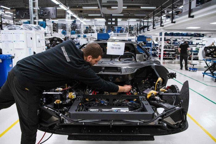 The production or manufacturing and sales business development were most in-demand job profiles in December 2019 in the automobiles sector. (AFP Photo)