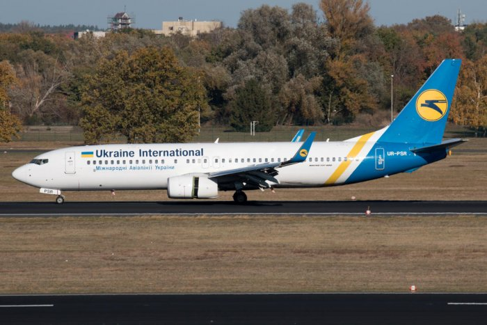 Ukraine International Airlines Boeing 737-800 taxis at Berlin Tegel airport, Germany October 31, 2018. REUTERS /File