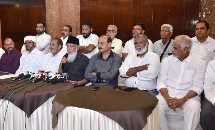 The Muslim Central Committee president K S Mohammed Masood briefed reporters about the CAA awareness campaign planned for January 15 in Mangaluru on Wednesday.