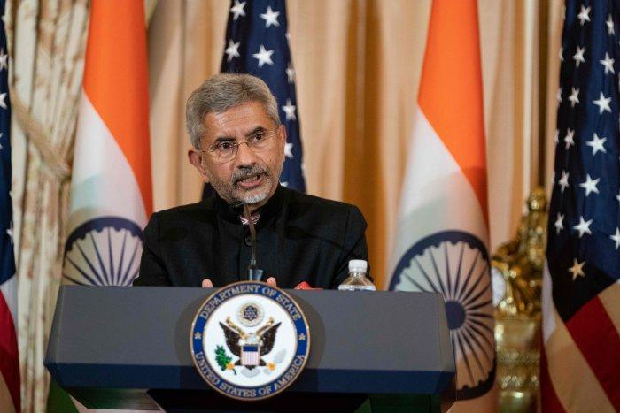 Indian Foreign Minister Subrahmanyam Jaishankar. (AFP Photo)