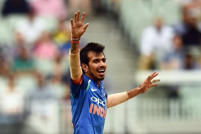 Leg-spinner Yuzvendra Chahal was included in the Indian playing XI for the third T20 International against Sri Lanka here on Friday. Credit: AFP