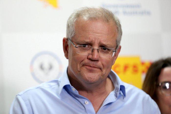Australian Prime Minister Scott Morrison. (Reuters photo)