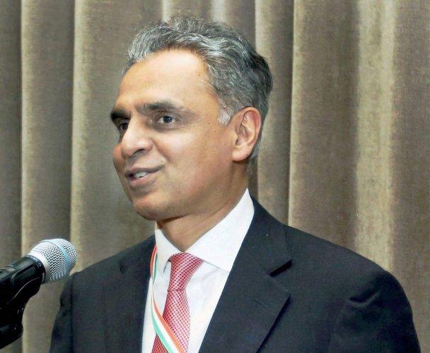 India's Permanent Representative to the United Nations Syed Akbaruddin. (PTI Photo)