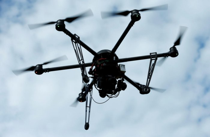 The drones, capable of travelling 2-3 kms on either side of the border, were reportedly being launched from the Indian side to fly into Pakistan to pick up payloads of narcotics.
