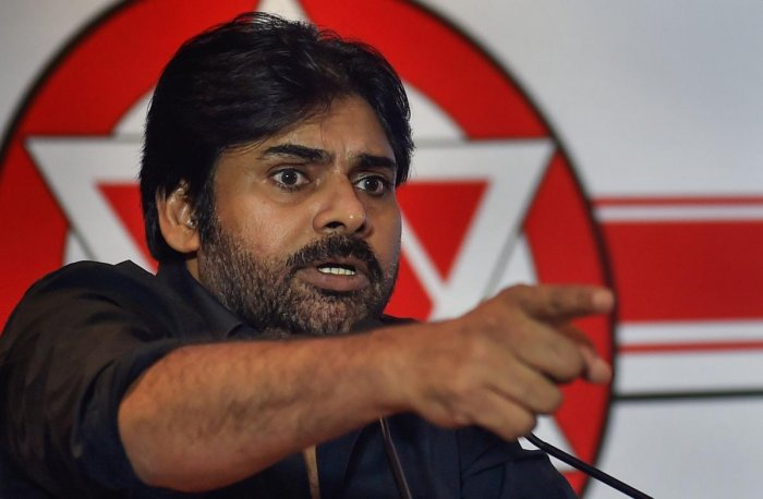 """""""The BJP-led NDA government has a pivotal role. It cannot let unrest prevail in the state as that could threaten national integrity,"""" the Jana Sena chief observed. (PTI Photo)"""