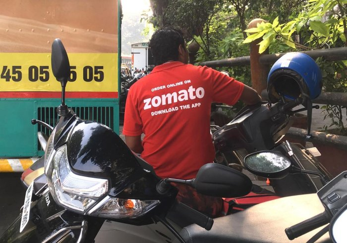 Zomato: Countering losses with more investment? (AFP Photo)