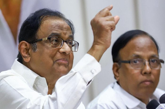 Senior Congress leader P Chidambaram asked former state Governor Satpal Malik to own responsibility and resign as Goa Governor, speaking about the restrictions in Jammu - Kashmir. (PTI Photo)
