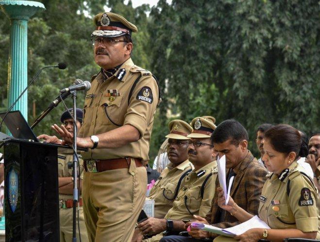 Hyderabad Police Commissioner Anjani Kumar (PTI Photo)