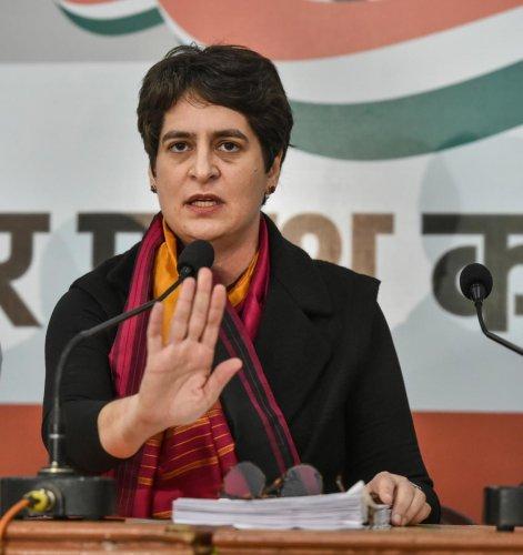 AICC general secretary Priyanka Gandhi Vadra (PTI Photo)