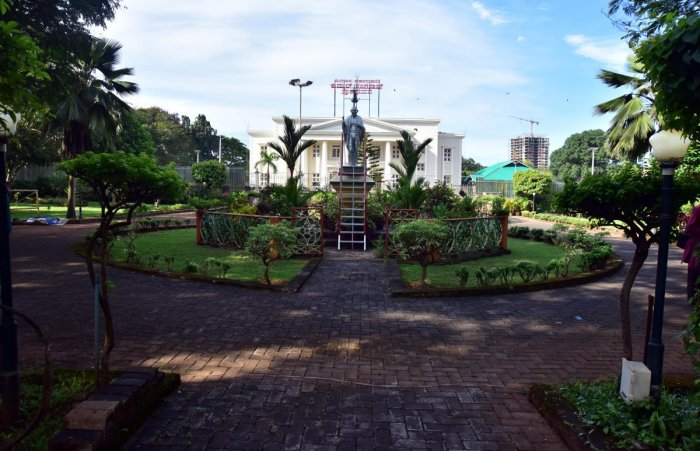 Mahatma Gandhi Park near Town Hall in Mangaluru as it used to be.