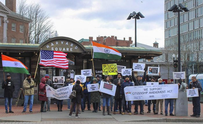. The NRIs' participation in such pro-Indian government protests overseas raises questions not only about their politics but also their grasp of their own history as immigrants.