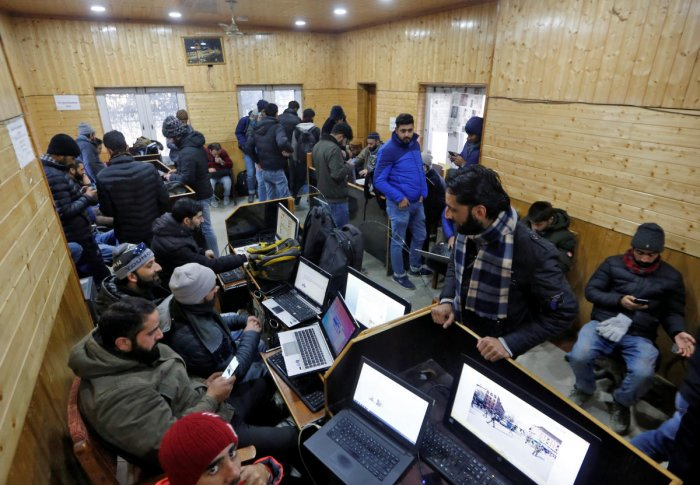 Hours before scrapping special status of J&K under Article 370 on August 5 last year, authorities imposed a communication blockade in Kashmir snapping landline, mobile phone and internet services.
