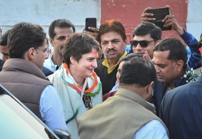 "According to political observers, Priyanka's visit to the Ravidas Temple in Varanasi is ""aimed at sending a message to the Scheduled Castes in Delhi""."