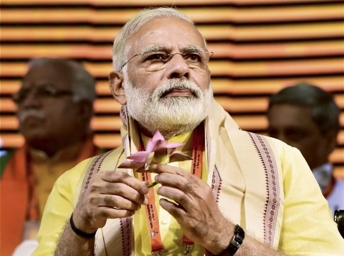 Whenever Modi used to visit Kolkata, even during his days as Gujarat chief minister, he would travel to the Ramkrishna Mission.