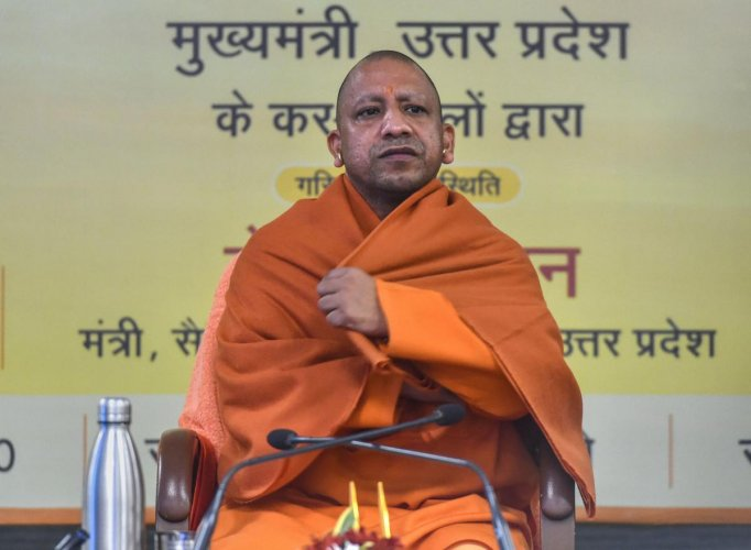 """Krishna, who had also released a letter he had written to Chief Minister Yogi Adityanath a few months ago in which he had accused five seniorIPSofficers of taking moneythrough some 'journos' for the postings and transfers of the cops, was suspended for """"leaking"""" government documents. Credit: PTI"""