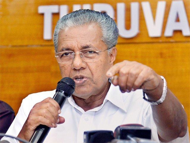 Kerala Chief Minister Pinarayai Vijayan. (File Photo)