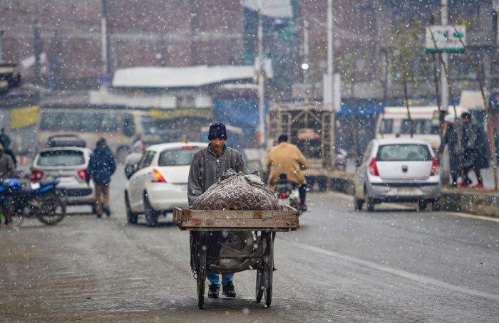 A general view of Kashmir. (Credit: PTI)