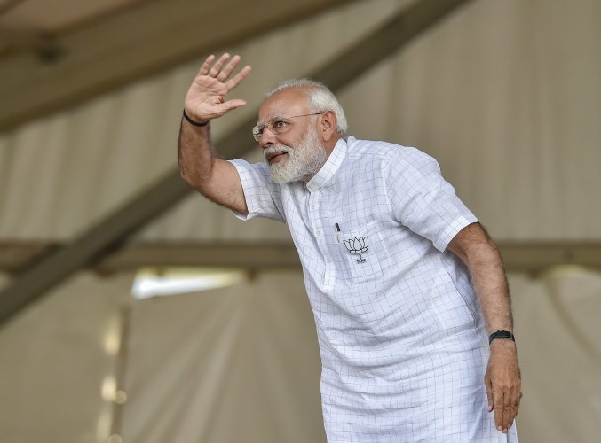 As per the earlier itinerary, Modi was scheduled to spend Saturday night at the Raj Bhavan here, he said. (PTI Photo)