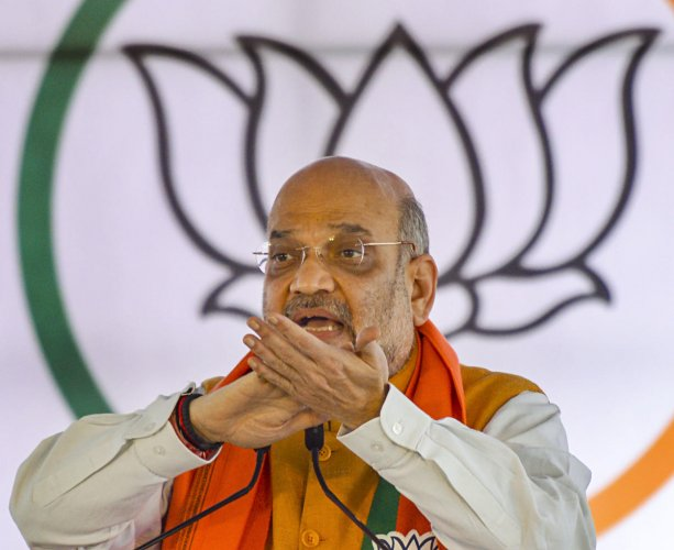 He posed as Union Home Minister Amit Shah in a phone call to state Governor Lalji Tandon to facilitate his friend's appointment as the vice-chancellor of a medical university. (PTI photo)