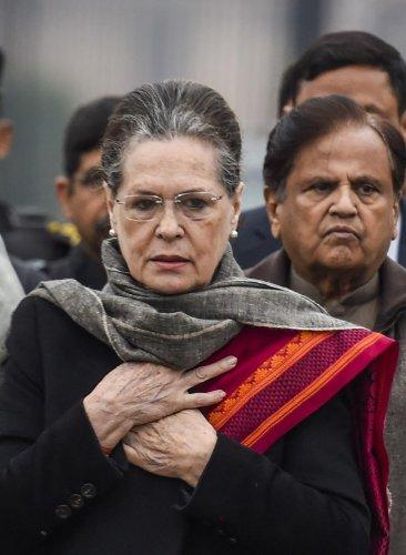 Congress interim president Sonia Gandhi (PTI Photo)