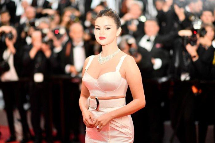US singer and actress Selena Gomez (AFP Photo)