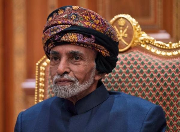 Sultan of Oman Qaboos bin Said al-Said. (Reuters Photo)