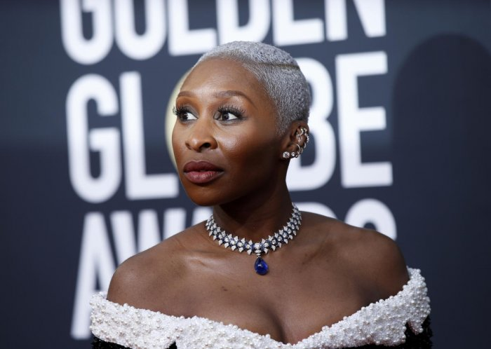 """Erivo said she turned down the invite to perform at the BAFTAs ceremony as it did not represent the people of colour in the """"right light"""". (REUTERS Photo)"""