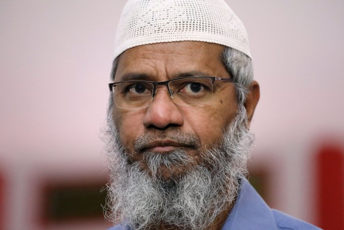 In his Zakir Naik said that he refused the offer of safe passage in exchange for support on revoking Article 370. (Reuters Photo)