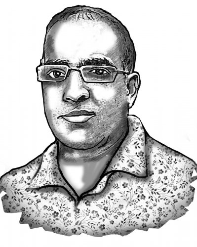 Ashwin Mahesh wakes up with hope for the city and society, goes to bed with a sigh, repeats cycle @ashwinmahesh