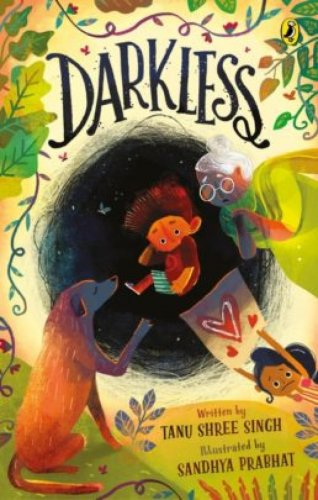 Darkless Tanu Shree Singh (Illustrated by Sandhya Prabhat)