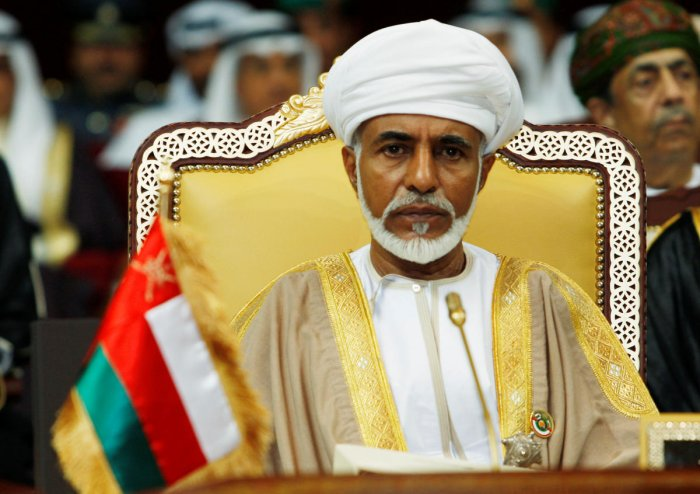 Oman's leader Sultan Qaboos bin Said attends the opening of the Gulf Cooperation Council (GCC) summit in Doha December 3, 2007. (Reuters Photo)