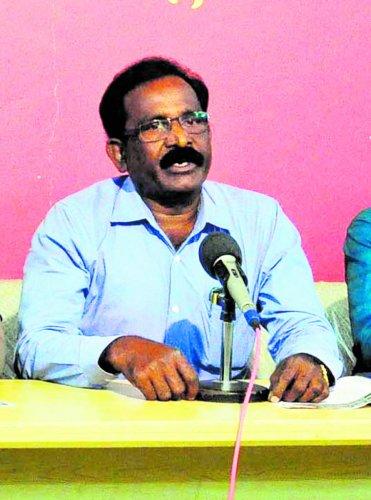 DSS Udupi president Sundar Master.