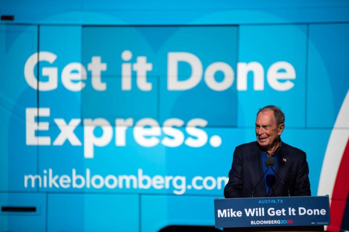 """""""I have to see as I get there,"""" Bloomberg said. """"I would prefer them to Donald Trump and I would try to help them."""""""