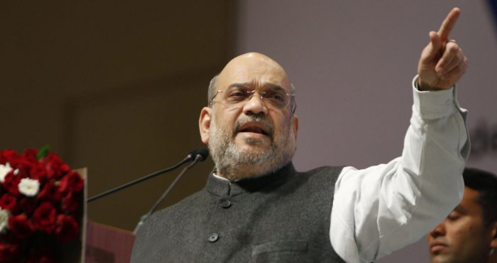 BJP president and Union Home Minister Amit Shah. (Credit: PTI)