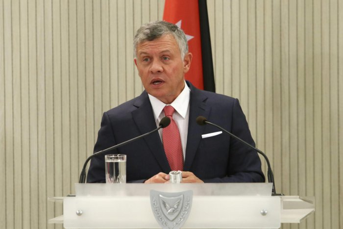 """""""So far it looks like de-escalation, we hope that that continues to be the trend. We can't afford instability in our part of the world,""""  said Jordan's King Abdullah. Credit: Reuters"""