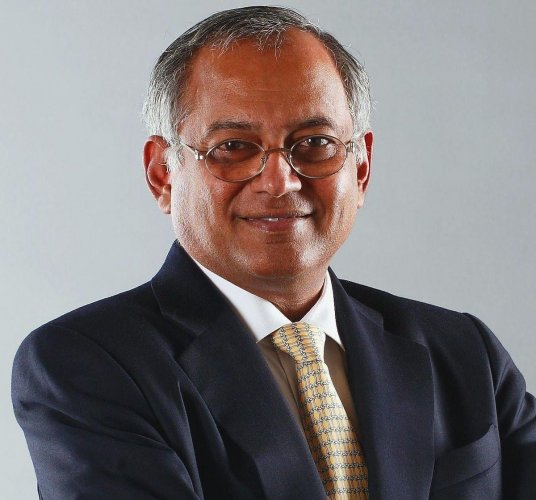 While participating in a debate during a book launch here, TVS Group Chairman Venu Srinivasan sought more focus on job creation in the Budget next month. (Credit: DH)