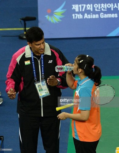 During his stint with coach Vimal Kumar in Bengaluru, Saina Nehwal climbed to the No. 1 spot in the world.