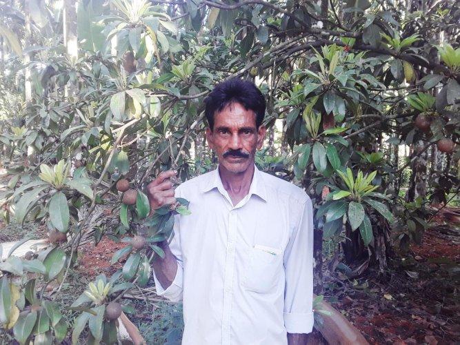 Farmer Upendra Naik. (Credit: DH)