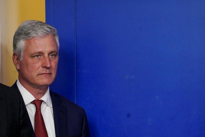 National Security Advisor Robert O'Brien. (Reuters Photo)