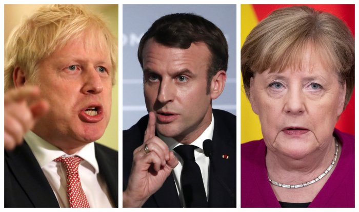 The three powers will inform the European Union on Tuesday they plan to trigger the mechanism. (Agencies Photos)