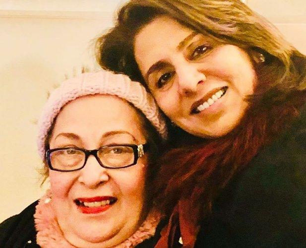 Neetu Kapoor along with Ritu Nanda in the picture. (Neetu Kapoor Instagram)