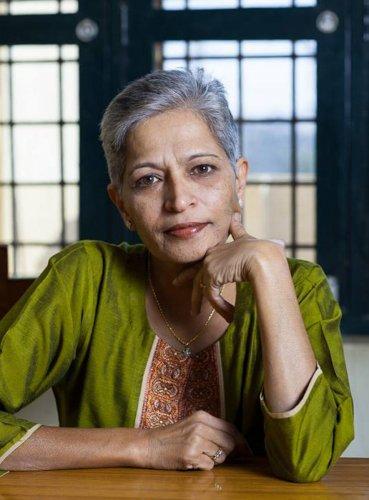 Gauri Lankesh. (DH Photo)